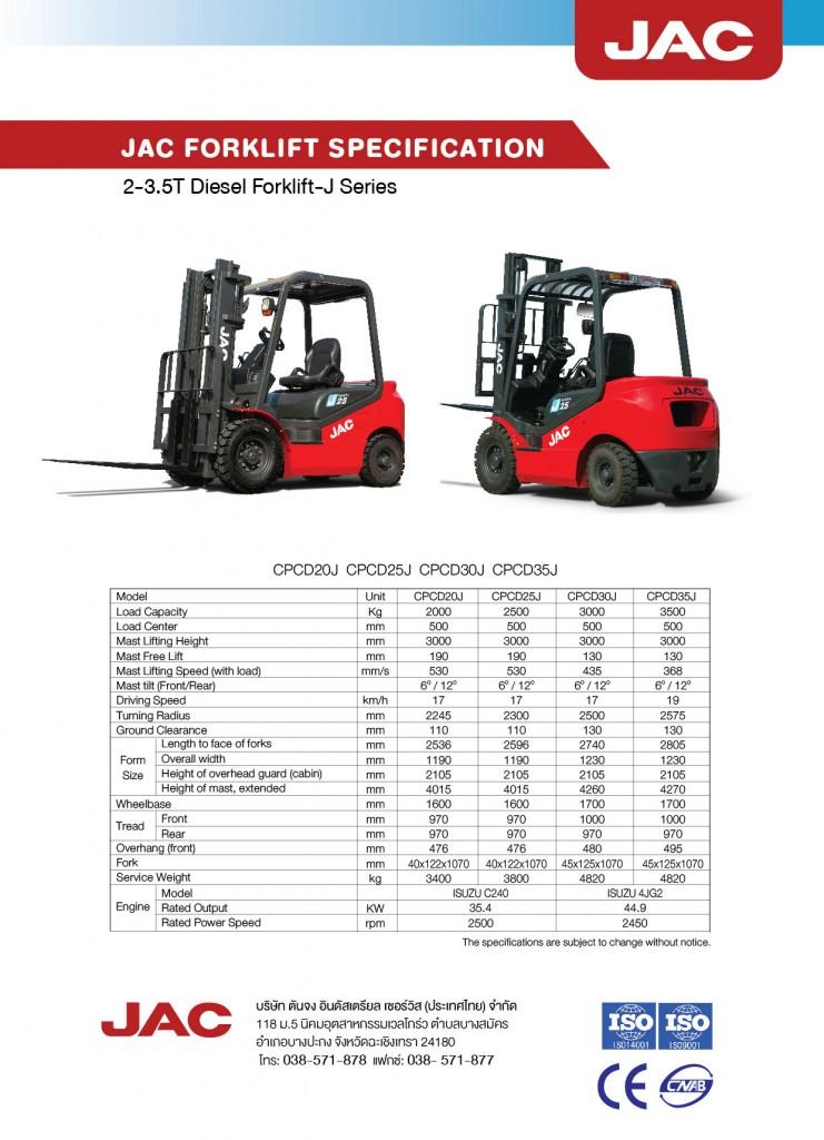 JAC Diesel 2-3.5 T Back